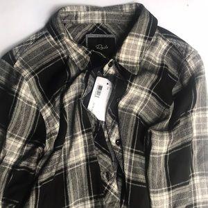 Rails fringe flannel